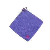 Embroidered Microfiber Towel
